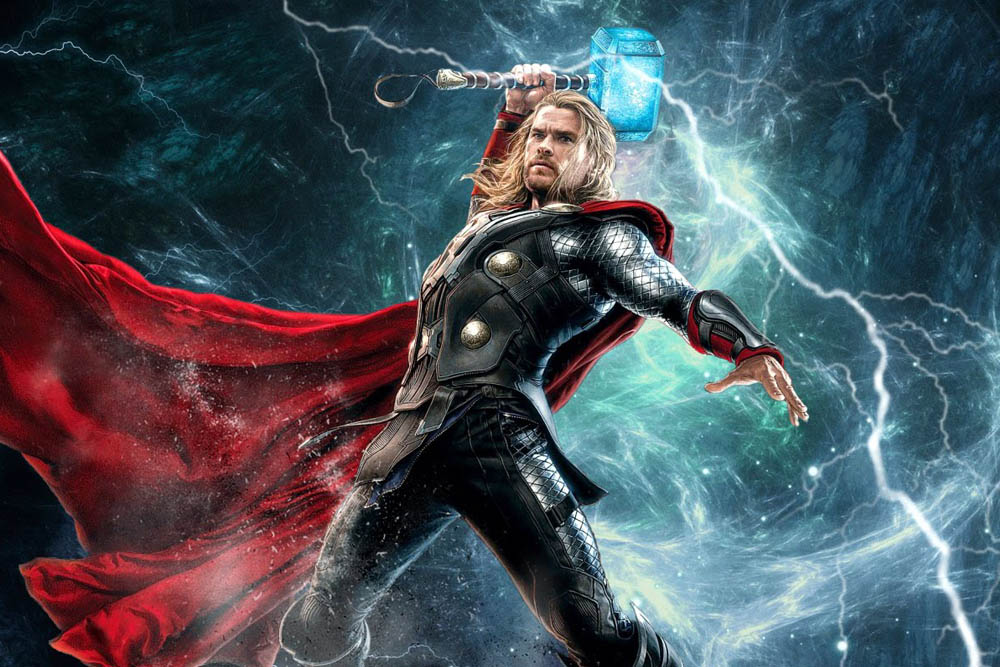 thor Thor was one of the most important and famous gods in norse mythology he was the son of odin and fyorgyn, the earth goddess thor was considered the storm-weather.