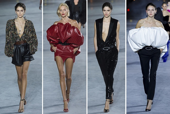 Saint Laurent весна 2018