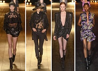 Коллекция Saint Laurent Осень 2018